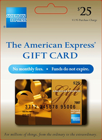 The American Express Gift Card.