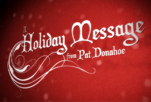 Holiday Message from PMG